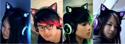Banyak orang bersiap mengeluarkan uangnya demi headphone kucing yang keren ini!